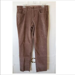 Soft brown/khaki straight leg cords